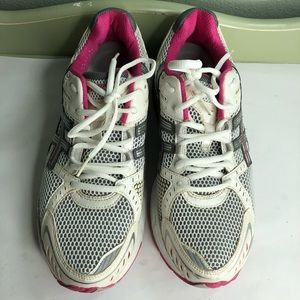 ASICS running shoes sneakers women size 10